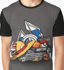 Anime Shonen & Monsters Graphic T-Shirt