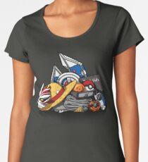 Anime Shonen & Monsters Women's Premium T-Shirt