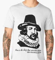 Sir Francis Bacon quote  Men's Premium T-Shirt