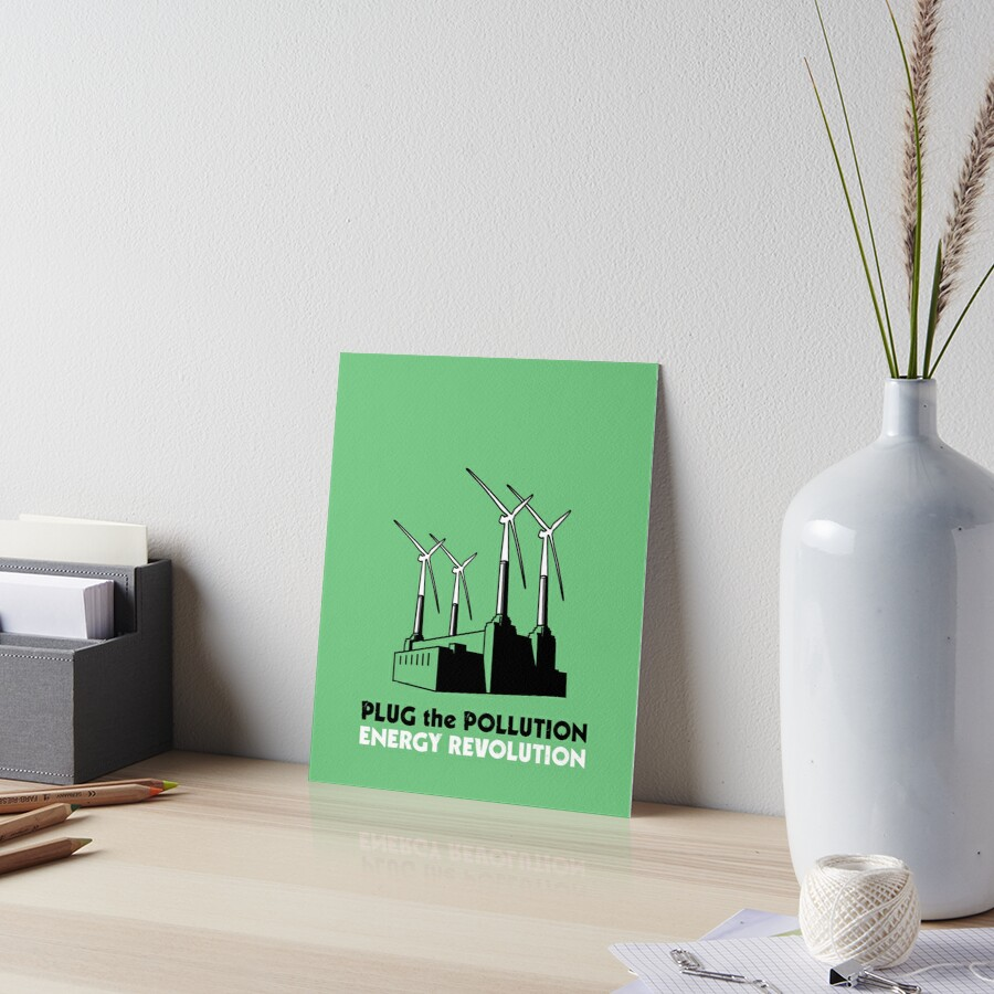 Plug the Pollution - Energy Revolution by Erland Howden