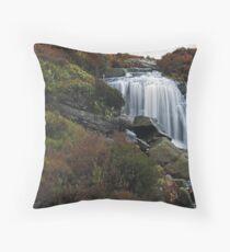 Hambleton Dyke Waterfall Throw Pillow