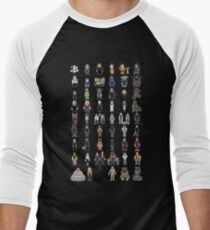 Buffy - Mini Monsters - The High School Years Men's Baseball ¾ T-Shirt