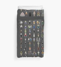 Buffy - Mini Monsters - The High School Years Duvet Cover