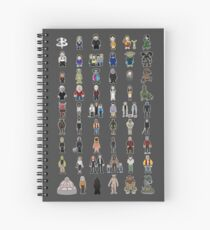 Buffy - Mini Monsters - The High School Years Spiral Notebook
