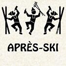 Après-Ski (Party / Winter Sports / Black) by MrFaulbaum