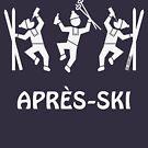Après-Ski (Party / Winter Sports / White) by MrFaulbaum