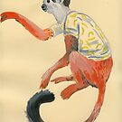 Common squirrel monkey by Loretaaa