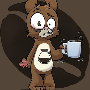 Caffeine Bear by dooomcat