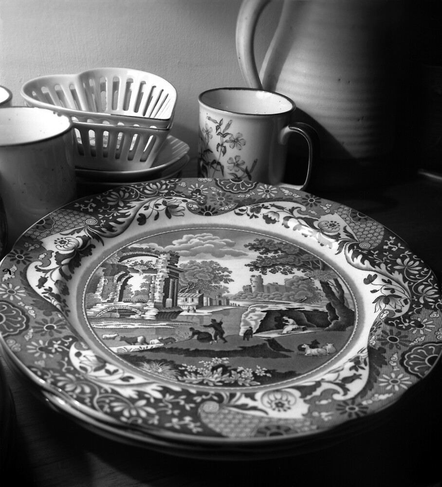 Still-life with crockery by david malcolmson