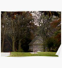 Spring House at Valley Forge Poster