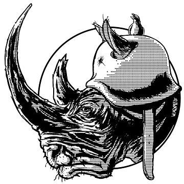 Rhino by FinnerTom