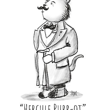 Hercule Purr-ot, Cat Detective! by brodyquixote