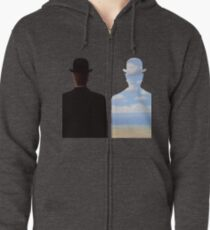 Magritte Zipped Hoodie