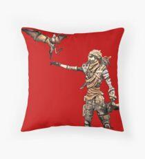 Borderlands - Mordecai Throw Pillow