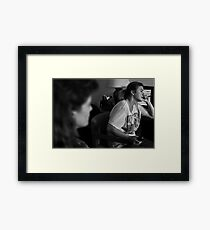 Condemned & Homeless Framed Print