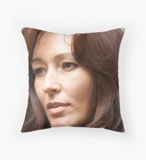Jennifer Portrait Throw Pillow