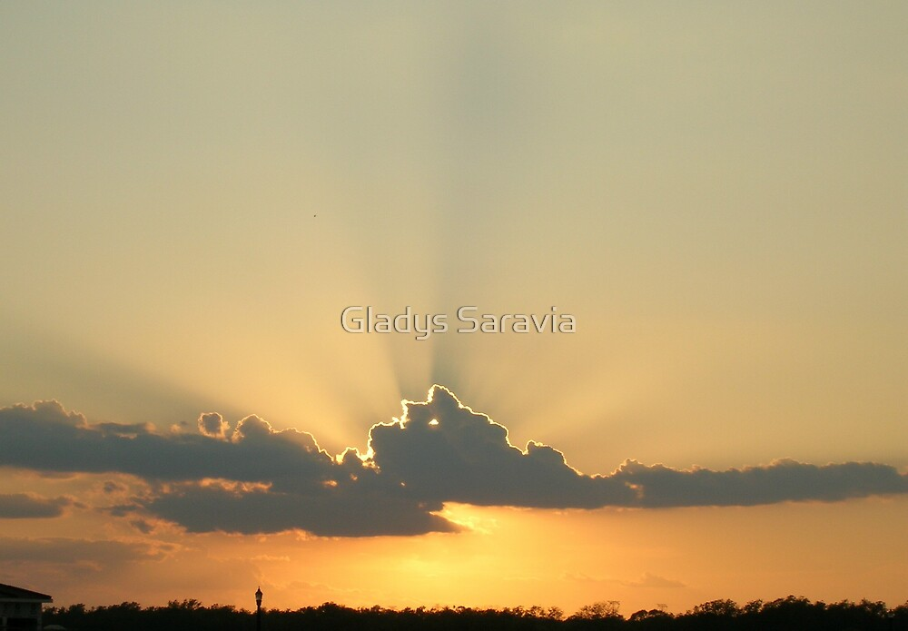 sunset@7 by Gladys Saravia