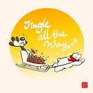 Jingle All The Way by Panda And Polar Bear