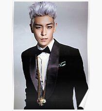 T.O.P Choi Seung hyun Bigbang k-pop Poster