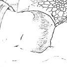 Sleeping by Gladys Saravia