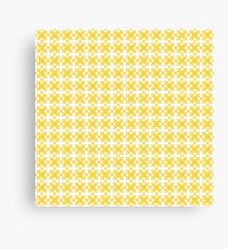 Scandi-style Flower Tiles Pattern Canvas Print