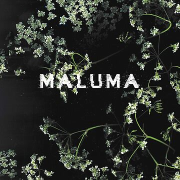 Maluma - B&W Floral Phone Case by amandamedeiros