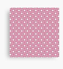 Another Scandi Snowflake Geometric Christmas Canvas Print