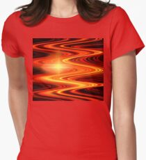 Red Gold Waves T-Shirt
