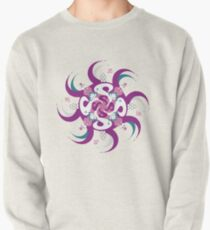 Shee Mandala Spiral with Om and Lotus Symbol Pullover