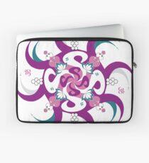 Shee Mandala Spiral with Om and Lotus Symbol Laptop Sleeve