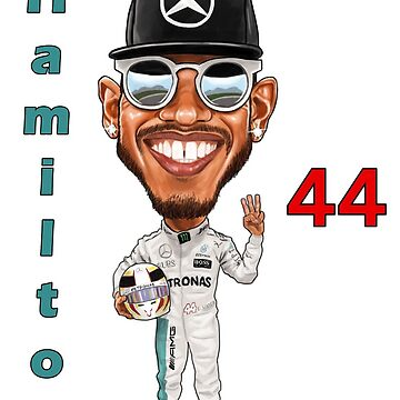 Lewis Hamilton 44 by mal108