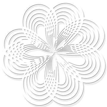 Rosette Floral Digital Art by Delights