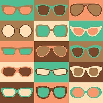 Fashion Eyeglasses Pattern by Lisann