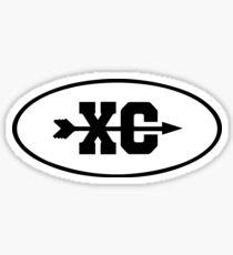 XC - Running Sticker