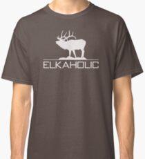 Christmas Gift Elkaholic  funny elk hunting KX414 Best Trending Classic T-Shirt