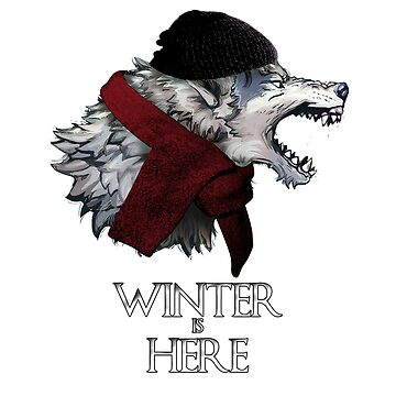 winter is here with wolf by clad63