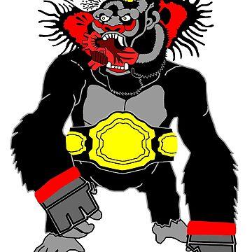 Gorilla by Rolorega