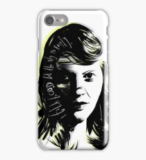 """Sylvia Plath - """"I talk to God but the sky is empty"""" iPhone Case/Skin"""