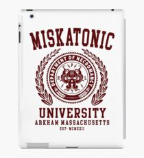 CTHULU AND LOVECRAFT - MISKATONIC UNIVERSITY iPad Case/Skin