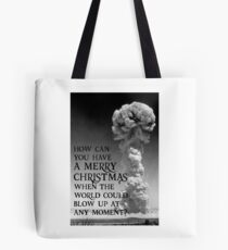 Nuclear Christmas - Alternative Christmas Card Tote Bag