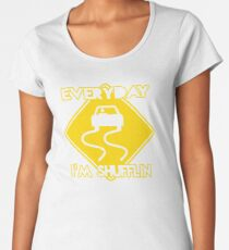 Christmas Gift Everyday I'm Shuffling DJ254 New Product Women's Premium T-Shirt