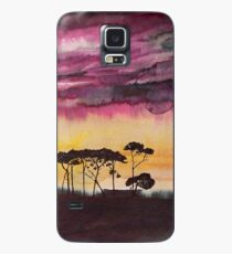 Africa sunset Case/Skin for Samsung Galaxy
