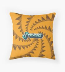 Prescott, AZ | Retro Streamline Throw Pillow