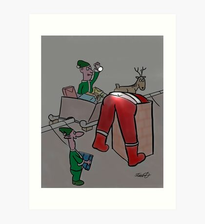 Immature Elves Art Print