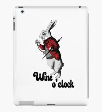 Wine o'clock - Cool Funny Drinking Design iPad Case/Skin
