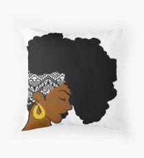 Für afrikanische B & W Bodenkissen