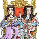William & Mary by MacKaycartoons