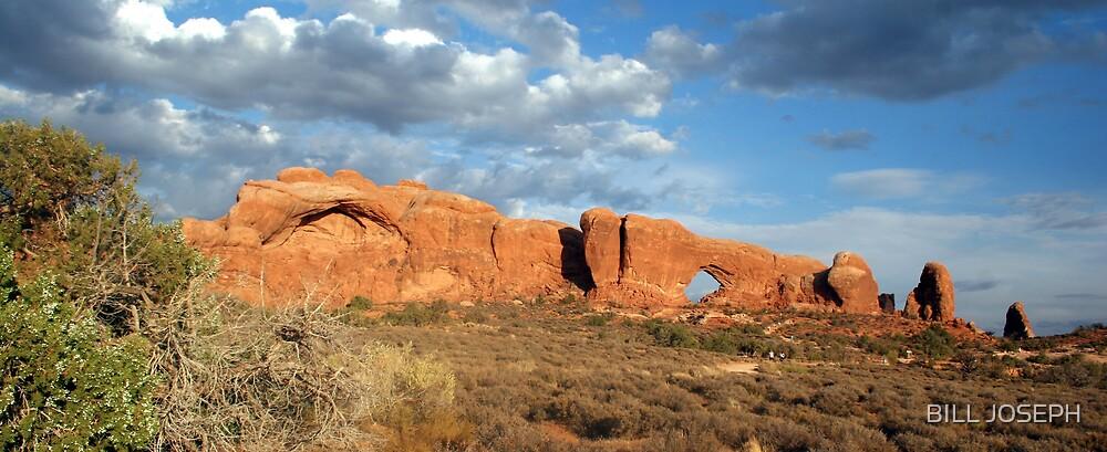 Arches NP ,Utah by BILL JOSEPH