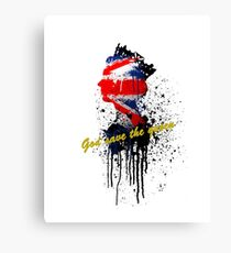 God save the Queen #2 Canvas Print