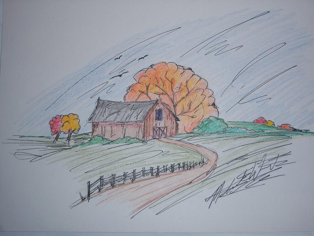fall bran by Michael Wright
